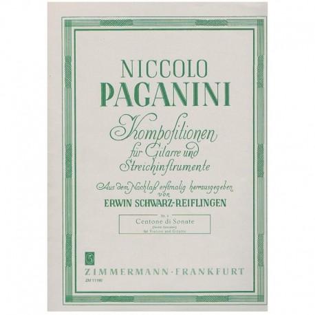 Paganini, Ni Centone Di Sonate (Violín y Guitarra)