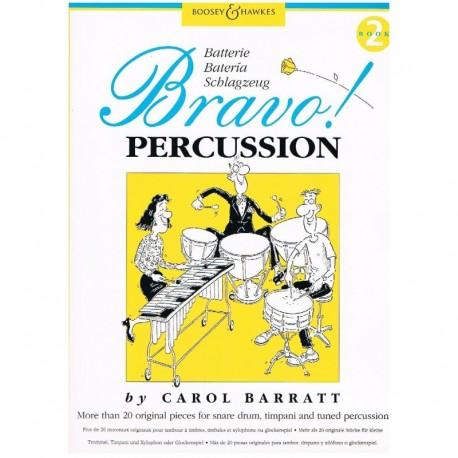 Barratt, Car Bravo! Percussion Vol.2 (Caja, Timbales y Láminas)