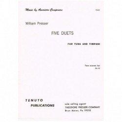Presser, Wil 5 Dúos (Tuba y...