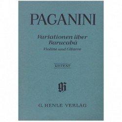 Paganini, Ni 60 Variaciones...