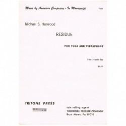 Horwood, Mic Residue (Tuba y Vibrafono)