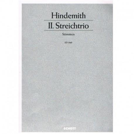 Hindemith Trío de Cuerdas (Violin, Viola, Violoncello)