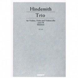 Hindemith Trío Op.34 (Violin, Viola, Violoncello)
