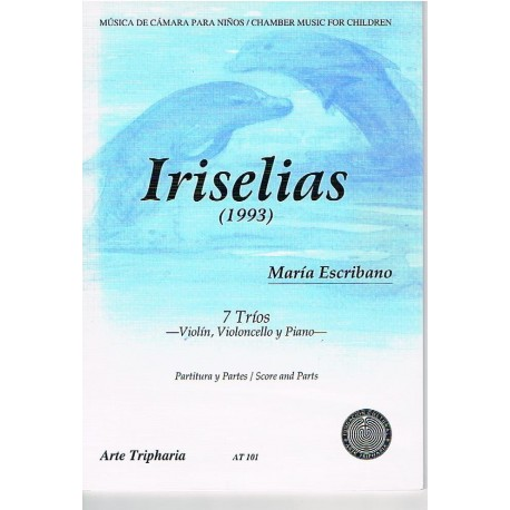 Escribano, M Iriselias (1993) 7 Tríos (Violín, Violoncello y Piano)