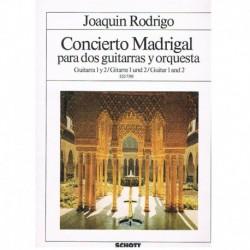 Rodrigo, Joa Concierto Madrigal (2 Guitarras)