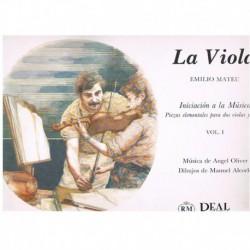 Mateu, Emili La Viola. Iniciación a la Música Vol.1 (2 Violas y Piano)