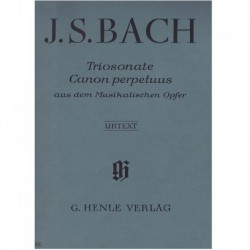 Bach, J.S. Triosonata y...