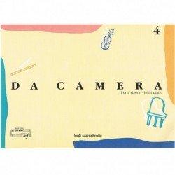 Azagra Benit Da Camera 4 (Flauta, Violín y Piano)
