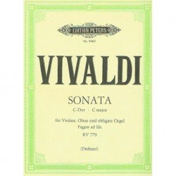 Vivaldi, Ant Sonata en Do...