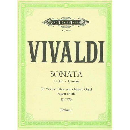 Vivaldi, Ant Sonata en Do Mayor RV.779 (Violín, Oboe y Organo)