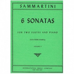 Sammartini 6 Sonatas Vol.2...
