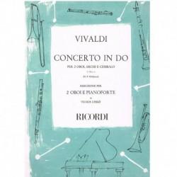 Vivaldi, Ant Concierto en Do F.VII Nº3 (2 Oboes y Piano)