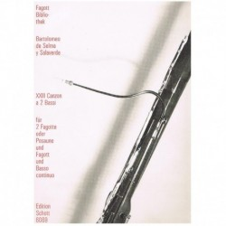 XXIII Canzon (2 Fagots y Piano)