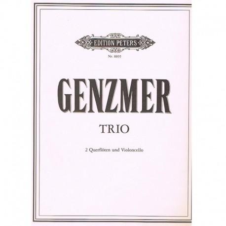 Genzmer Trío (2 Flautas y Violoncello)