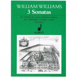 Williams, Wi 3 Sonatas para...