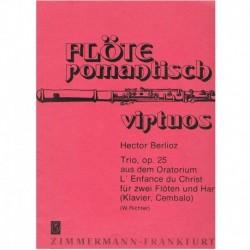 Berlioz, Hec Trío Op.25 (2 Flautas y Piano)