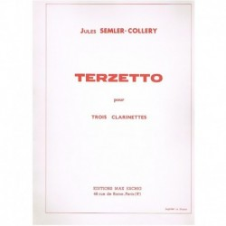 Semler-Collery.Terzetto (3 Clarinetes)