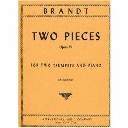 Brandt 2 Piezas Op.15 (2...