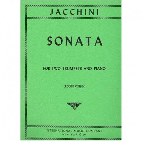 Jacchini Sonata (2 Trompetas y Piano)