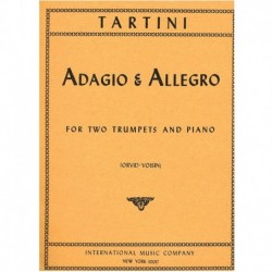 Adagio & Allegro (2 Trompetas y Piano)