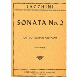 Jacchini Sonata Nº2 (2 Trompetas y Piano)