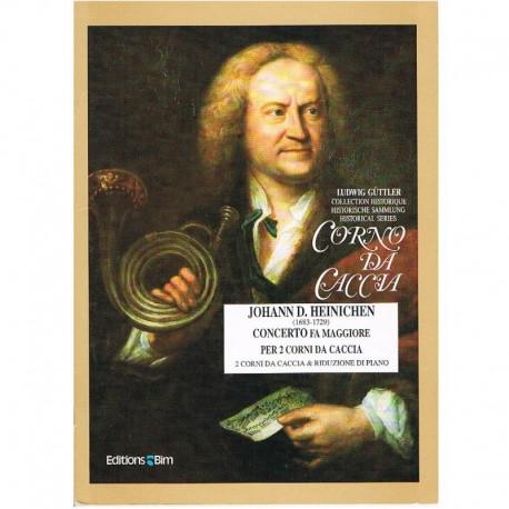 Heinichen, J Concierto en Fa Mayor (2 Trompas y Piano)
