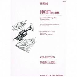 Haendel, G.F Concierto en LAb (2 Trompetas y Piano)