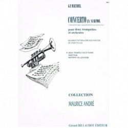 Haendel, G.F Concierto en Sib (2 Trompetas y Piano)