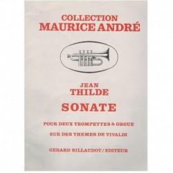 Thilde. Sonata (2 Trompetas y Organo)