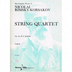 Rimsky Korsa Cuarteto de...