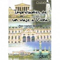 Zalba Ibañez Impresiones de un Viaje a Viena (2 Violines, Viola, Cello)