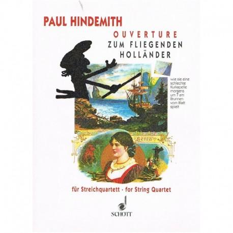 Hindemith, P Obertura de El Holandes Errante (2 Violines, Viola, Cello)