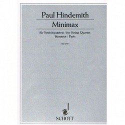 Hindemith, P Minimax (2 Violines, Viola, Cello)