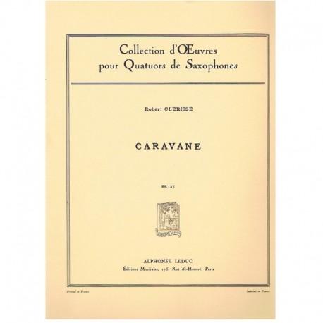 Clerisse, Ro Caravane (4 Saxofones)