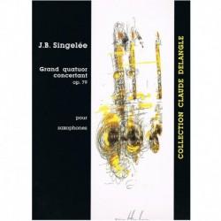 Grand Quatour Concertant Op.79 (4 Saxofones)