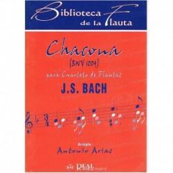 Bach, J.S. Chacona BWV1004...
