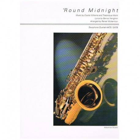 Williams/Mon Round Midnight (4 Saxofones)