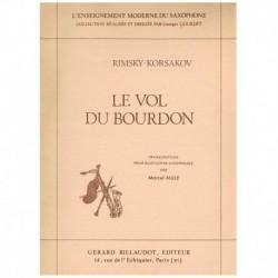 Rimsky Korsa El Vuelo del Moscardón (4 Saxofones)