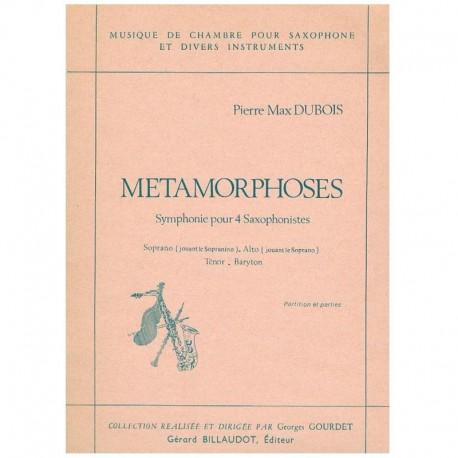Dubois, Pier Metamorphoses (4 Saxofones)