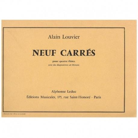 Louvier, Ala Neuf Carrés (4 Flautas)
