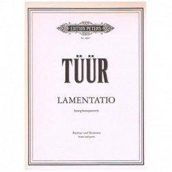 Lamentatio (4 Saxofones)