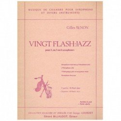 Vingt Flash-Jazz (4 Saxofones)