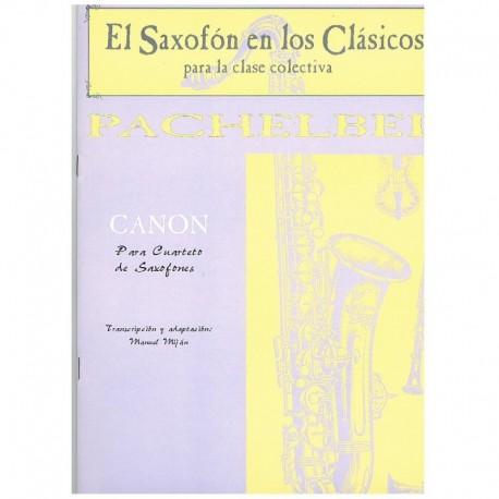 Pachelbel Canon (4 Saxofones)