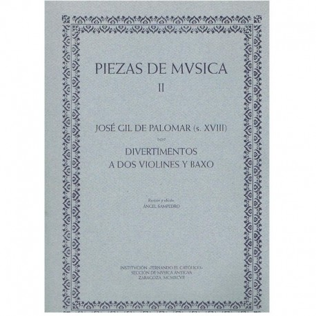 Gil de Palom Piezas de Música II. Divertimentos