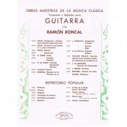 Roncal. Farruca (Guitarra)