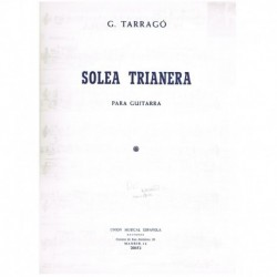 Tarrago. Soleá Trianera (Guitarra)