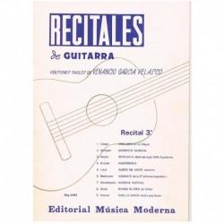 Garcia Velas Recitales de Guitarra Vol.3