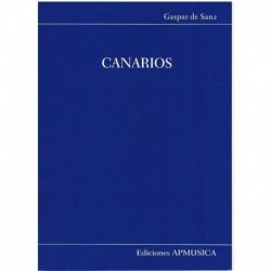 Sanz, Gaspar Canarios (Guitarra)