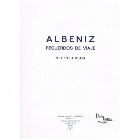 Albeniz, Isaac. Recuerdos de Viaje Nº7. En la Playa (Piano)
