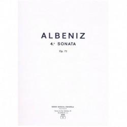 Albeniz, Isaac. 4ª Sonata Op.72 (Piano)